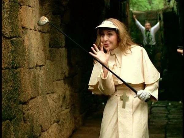 Ellen as Pope
