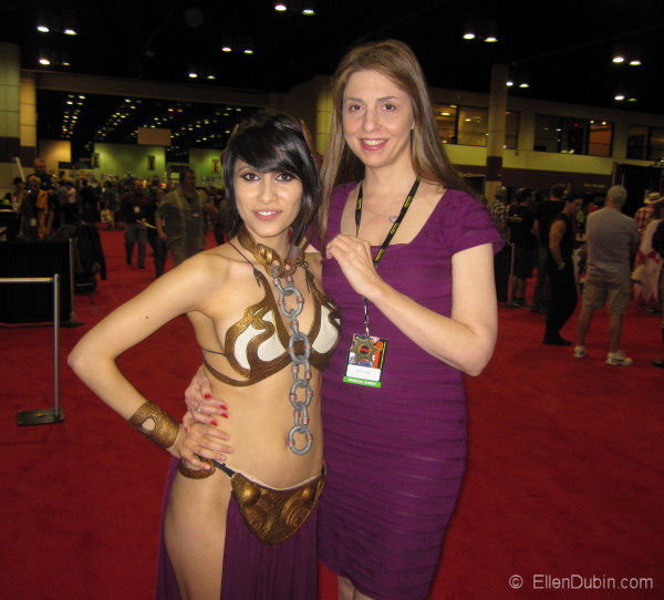 Ellen and awesome Anime Voice Actress Cristina Vee