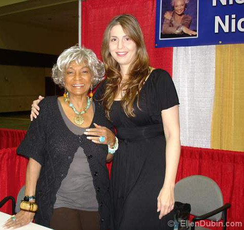 Nichelle Nichols (Star Trek) and Ellen