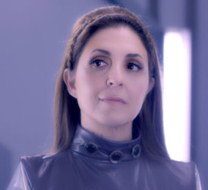 Ellen plays Col. Theia