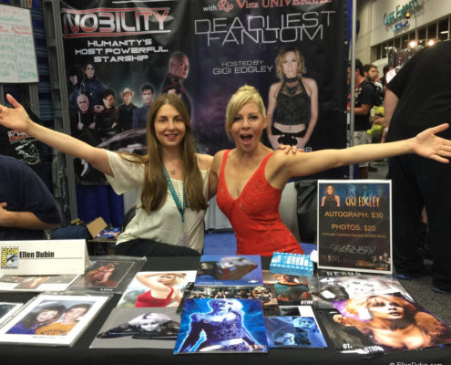 Ellen and the fantastic Gigi Edgley