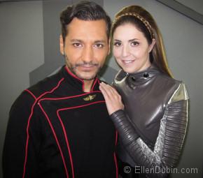 Ellen Dubin and Cas Anwar