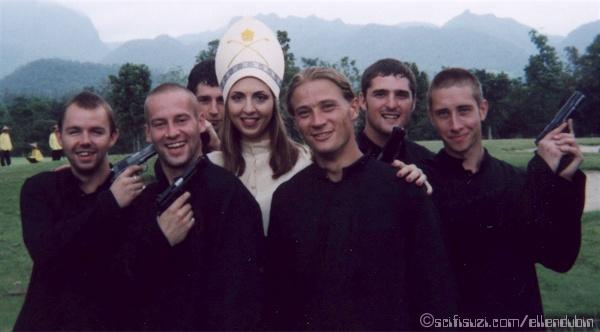 Ellen and Monks